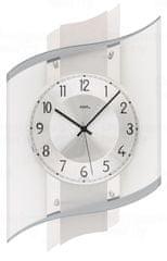AMS design Designové nástěnné hodiny 5516 řízené rádiovým signálem AMS 48cm