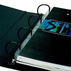 3L Pásky samolepicí do pořadačů, A4, 295mm, transparentní, 100ks