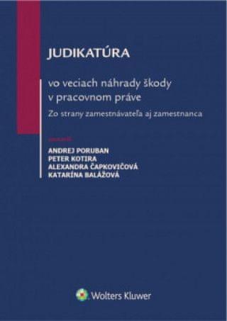 Judikatúra vo veciach náhrady škody v pracovnom práve