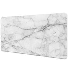 Kobercomat Velká podložka na stůl mramor šedý 90x45cm