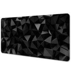 Kobercomat Ochranná podložka na stůl abstrakce black 90x45cm