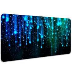 Kobercomat Pracovní podložka na stůl modré částice 100x50cm