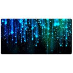 Kobercomat Pracovní podložka na stůl modré částice 120x60cm