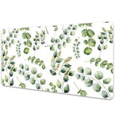 Kobercomat Pracovní podložka na stůl Eucalyptus květiny 90x45cm