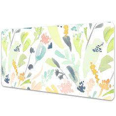 Kobercomat Velká podložka na stůl pro děti květiny 90x45cm