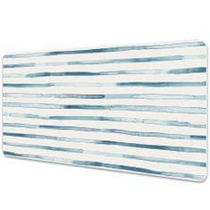 Kobercomat Ochranná podložka na stôl modrej čiary
