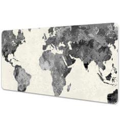 Kobercomat Pracovní podložka na stůl Staré mapa světa 90x45cm