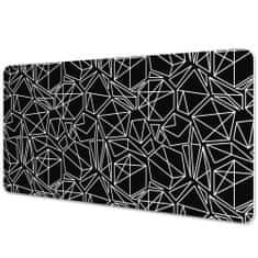 Kobercomat Ochranná podložka na stůl geometrické tvary 90x45cm