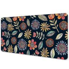 Kobercomat Pracovná podložka s obrázkom farebné kvety