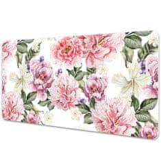 Kobercomat Veľká ochranná podložka na stôl umenie kvety
