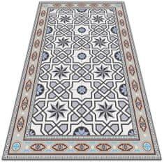 Kobercomat Módne vinylový koberec geometrické star