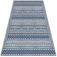 Kobercomat vinylový koberec geometrické chodník