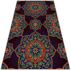 Kobercomat Módne univerzálny vinylový koberec mandala ornament