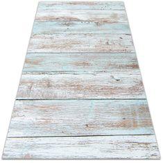 Kobercomat Vnútorné vinylový koberec retro dosky