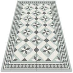 Kobercomat Moderné koberec na terasu osemcípa hviezda