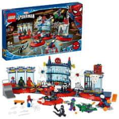 LEGO Super Heroes 76175 Útok na pavúčí brloh