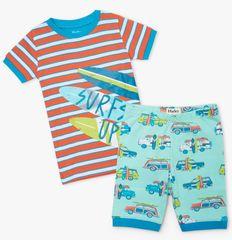 Hatley chlapecké pyžamo z organické bavlny Surfs Up S21BCK205