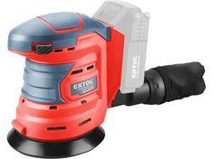 Extol Premium Brúska excentrická akumulátorová Share20V, bez aku a nabíjačky, 125mm, suchý zips