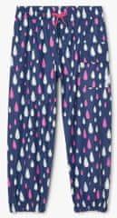 Hatley dívčí nepromokavé kalhoty do deště Rain Drops Colour Changing S21DDK911