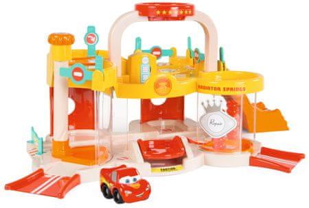 Smoby Vroom Planet Cars 3 garaža