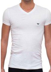 Emporio Armani Pánské tričko Emporio Armani 111512 CC717 bílá