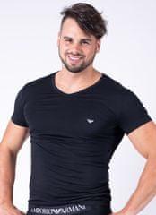 Emporio Armani Pánské tričko Emporio Armani 111512 CC717 černá