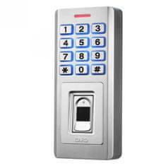 ACS Zoneway Zoneway KF5 přístupový systém s klávesnicí, čtečkou EM/HID a čtečkou otisků prstů