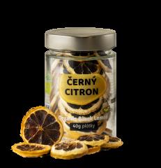 Garlio Bio Černý citron PLÁTKY 40g