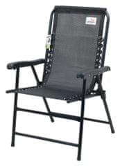 Cattara Židle zahradní skládací TERST černá