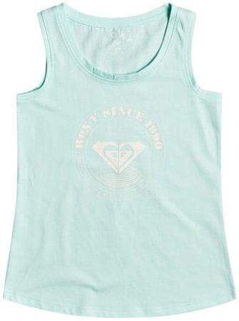 Roxy ERGZT03750-GCF0 Thereislifelogo majica bez rukava za djevojčice, zelena, M