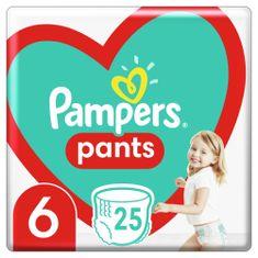 Pampers Pants bugyipelenka, nagyság 6, 25 db, 15kg+, fehér 6