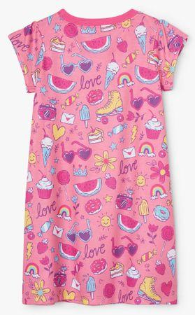 Hatley Lovely Doodles S21DNK1192 lány hálóing, 92, rózsaszín