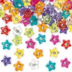 Baker Ross Korálky hvězdičky s diamantem