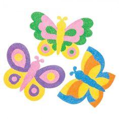 Baker Ross Magnetky vyrobené pískováním - motýli (6ks)