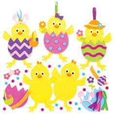 Baker Ross Sada k výrobě dekorace velikonoční kuře (8 ks)