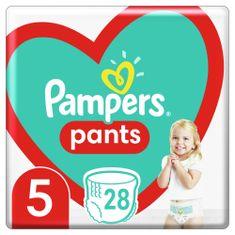 Pampers Plienkové nohavičky Pants Veľkosť 5, 28 ks, 12kg-17kg biela 5