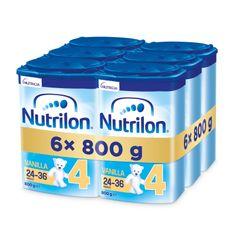 Nutrilon 4 Vanilla batolecí mléko 6x 800g, 24+