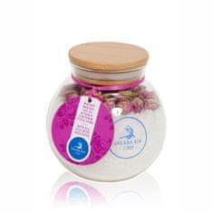 Solana Nin Koupelová mořská sůl s květy růže, 490 g