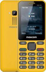MaxCom telefon MM139, żółty