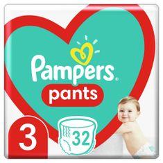 Pampers Plienkové nohavičky Pants Veľkosť 3, 32 ks, 6 kg-11 kg