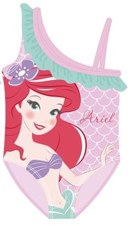 Disney Lány egyrészes fürdőruha Ariel WD12568, 116 - 122, rózsaszín