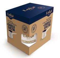 Loka kava darilno pakiranje kava Special, 6 x 100 g + džezva, 0,4 L
