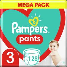 Pampers Bugyipelenka Pants 3-as méret, 128 db, 6kg-11kg