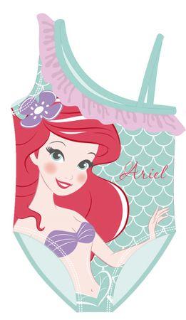 Disney Lány egyrészes fürdőruha Ariel WD12568_1, 116 - 122, zöld
