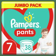 Pampers Plienkové nohavičky Pants Veľkosť 7, 38 ks, 17kg+