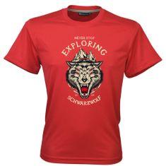 Schwarzwolf SCHWARZWOLF COOL SPORT MEN funkční tričko červená