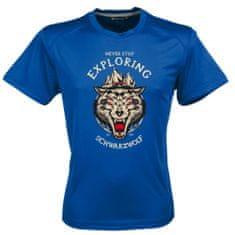 Schwarzwolf SCHWARZWOLF COOL SPORT MEN funkční tričko modrá
