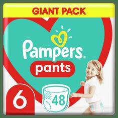 Pampers Pants bugyipelenka, nagyság 6, 48 db, 15kg+