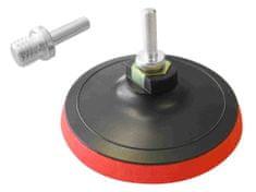 Extol Craft nosič brusných výseků - M14, suchý zip s redukcí úchytu do vrtačky