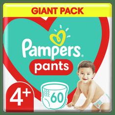 Pampers Bugyipelenka Pants 4+ -os méret, 60 db